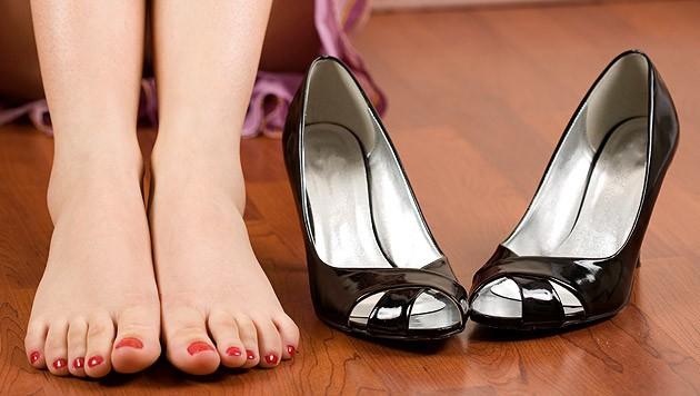 Wenn der Schuh drückt: Blasen richtig behandeln | krone.at