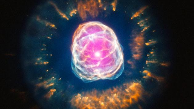 (Bild: NASA/CXC/IAA-CSIC/N. Ruiz et al., STScI)