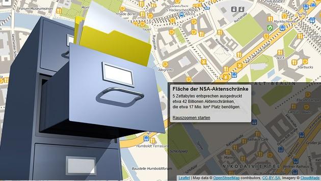 (Bild: thinkstockphotos.de, apps.opendatacity.de/stasi-vs-nsa)