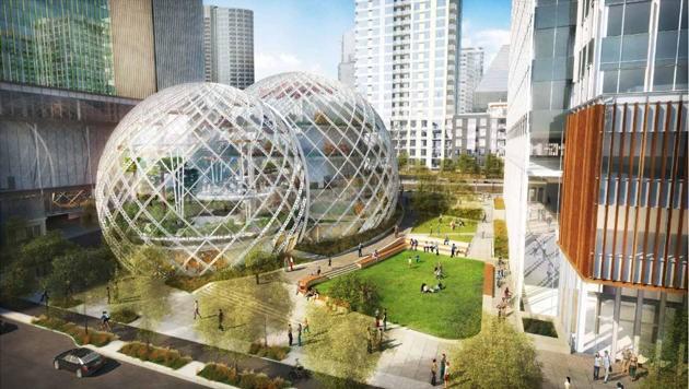 Die Amazon-Zentrale in Seattle (Bild: seattle.gov)