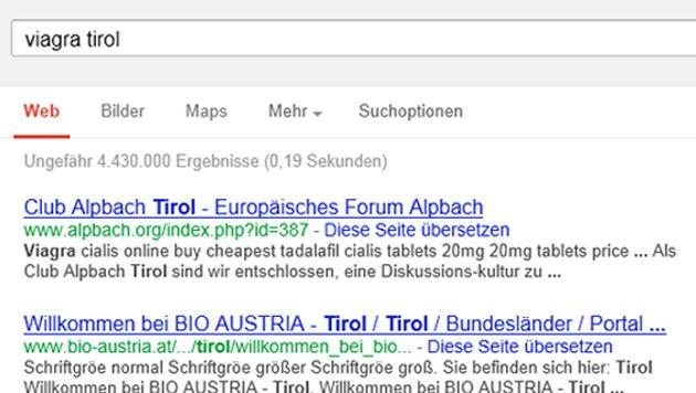 (Bild: Screenshot, google.at)