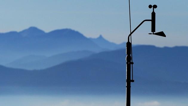 Feinstaub Messstation (Bild: APA/BARBARA GINDL)