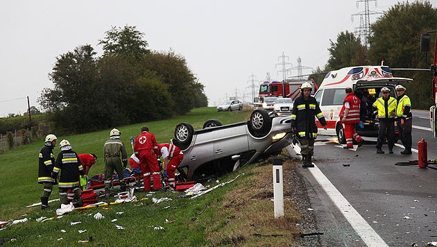 Viele Unfälle machen die S31 gefährlich, Symbolbild (Bild: APA/BEZIRKSFEUERWEHRKOMMANDO OBERPULLENDORF/JACOB SCHUMANN)