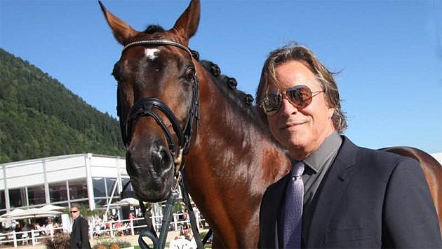 Don Johnson war bereits im Glock Horse Performance Center zu Gast. (Bild: Uta Rojsek-Wiedergut)