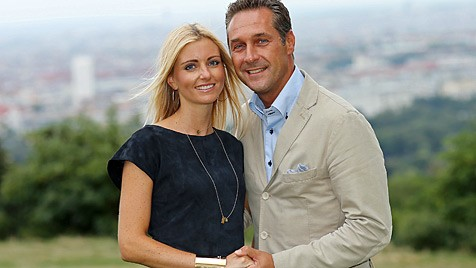 Strache Ehefrau Daniela Plachutta