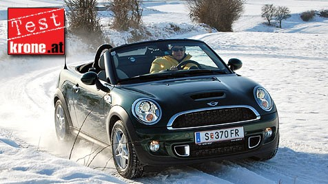 So Fährt Es Sich Mit Dem Mini Roadster Auch Im Winter Kroneat